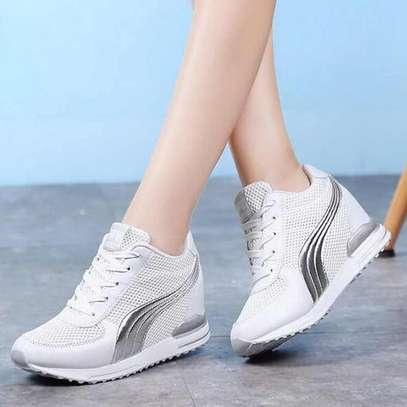 Wedged sneakers image 2