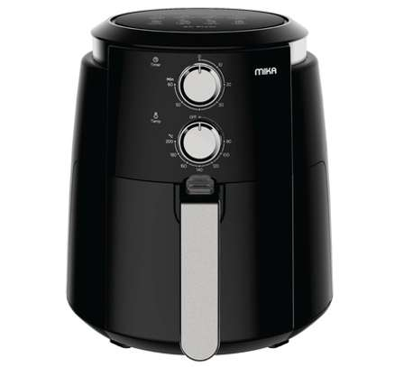 Air Fryer, 3.5 Ltrs, 1500W, Black & Stainless Steel image 1