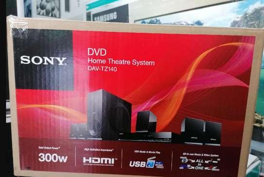 Sony Dav-Tz140 300w Dvd 5.1 Channel Home Theatre System – Black image 1