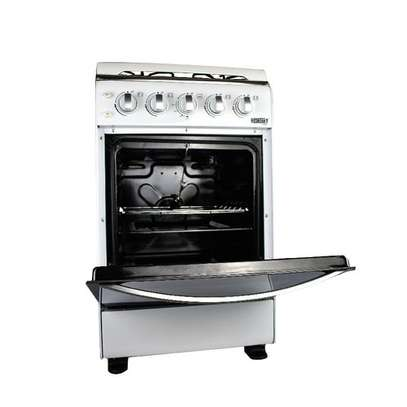 Redberry RSC711 - Free Standing 4 Burner Gas Oven - White image 3