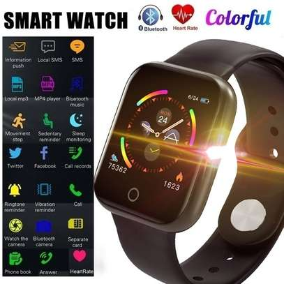 Heart Rate Sports Watch Activity Tracker i5 – Black image 4