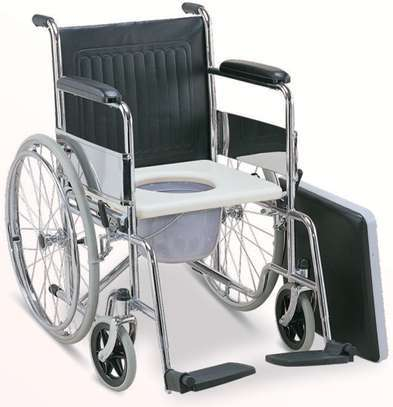 Commode Wheelchair Standard folding
