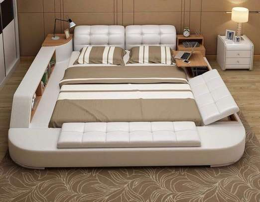 Multifunctional beds with multi storage space image 6