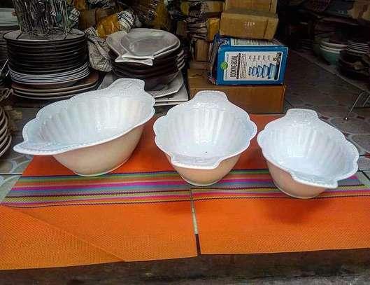 3 Piece Ceramic Bowl set image 1