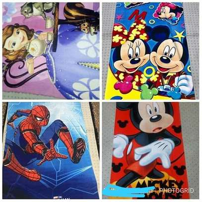 Cotton Cartoon-Themed Towels
