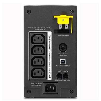 APC Back-UPS 700VA, 230V, AVR, IEC Sockets - BX700UI image 2