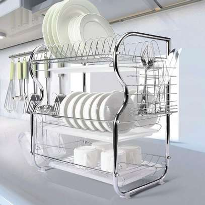 Generic 3Tier Stainless Steel Dish Drainer Dry Rack image 5