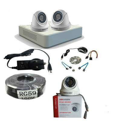 2 CCTV CAMERA COMPLETE PACKAGE image 2