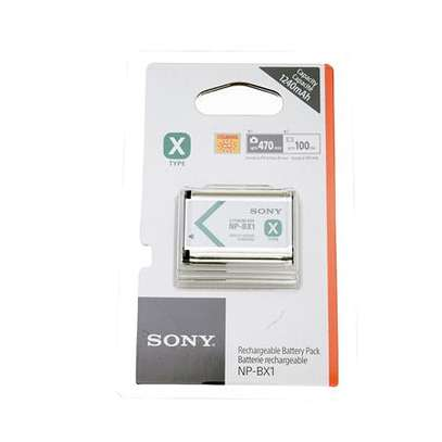 Sony NP-BX1 lithium X Type Rechargeable Camera Battery image 1