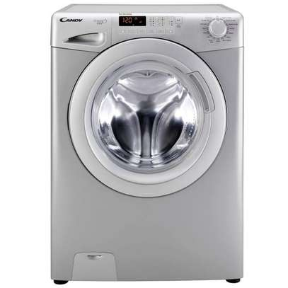 CANDY FRONT LOAD CANDY 8KG WASHER, SILVER- CW/101 image 1