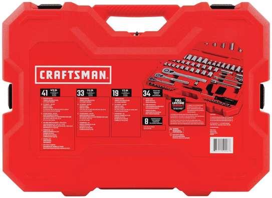 CRAFTSMAN Mechanics Tool Set, SAE / Metric, 135-Piece image 3