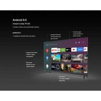 Syinix 55″ 4K UHD SMART Android LED TV,Frameless,Voice Remote image 2