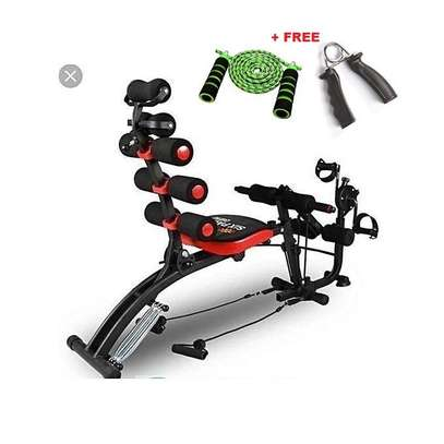 Six Pack Care ABS Fitness Machine +Pedals+skipping rope+handgrip image 1
