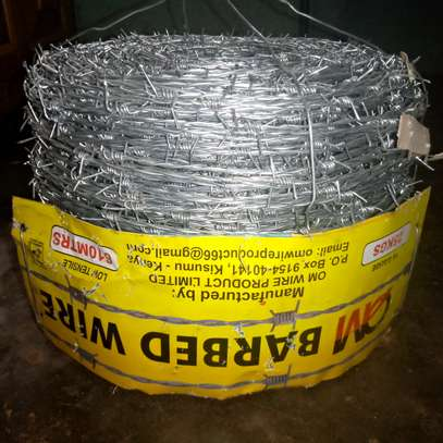 Barbed wire 610 metres image 1