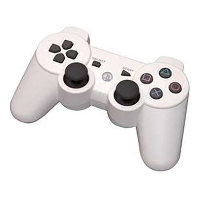 P3 PS3/PC Pad Double Shock 3 - Wireless Controller - White image 1