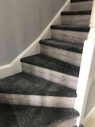 Charcoal grey wall to wall carpets image 10