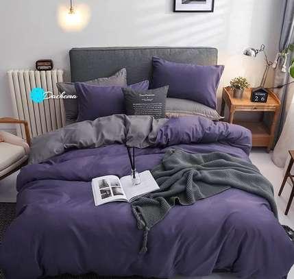 6*6 plain dark purple duvets image 1