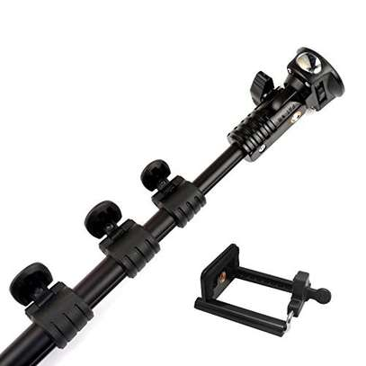 YT-188 Extendable Handheld Wired Selfie Stick Monopod image 1