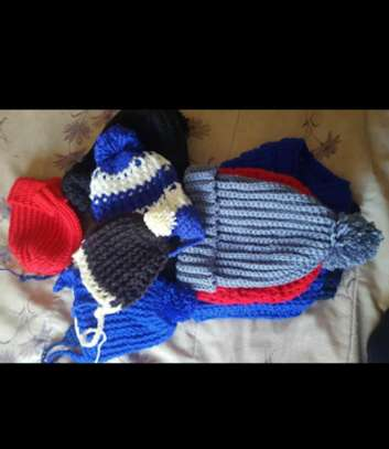 Stylish knitted women scarfs and Marvin image 8