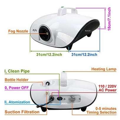 Atomizing Disinfection Smoke Fog Machine  Machine image 3
