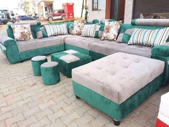 Versatile Modern Quality U-shaped Sectional Sofa image 1