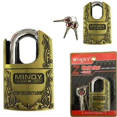 Mindy Security Vintage Padlock- 40mm 50mm 60mm image 3