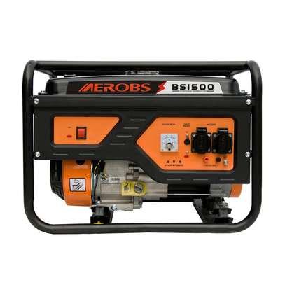 Aerobs 1500 1.2 KVA Four stroke Petrol Generator image 1