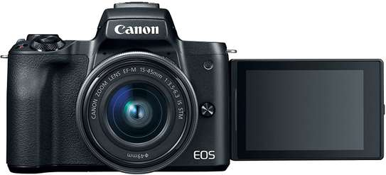 Canon EOS M50 Mirrorless Vlogging Camera Kit with EF-M 15-45mm lens image 7