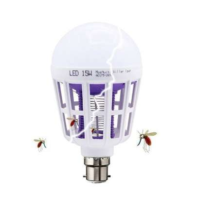 Generic Best Selling Mosquito Killer Lamp Led Bug Zapper LED Bulb 3 Modes Insect Repellent Night Light 15W Pin Type image 1
