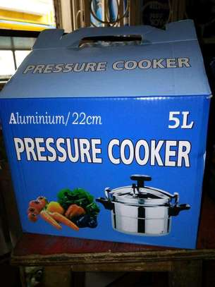 5litre Pressure cooker/Pressure cooker/Non explosive Pressure image 1