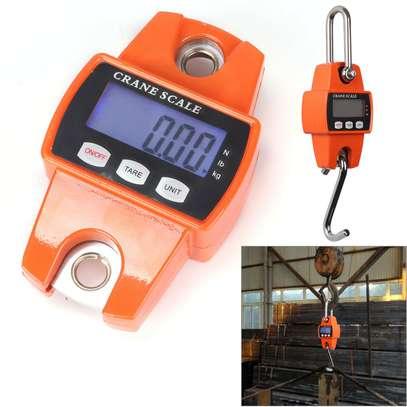 300kg/600lb LCD Digital Crane Scale Hook Hanging Weighing Heavy Duty UK image 7