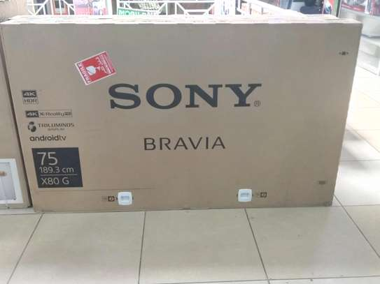 Sony Bravia 75 Inches Android 4K UHD Smart TV Model X8000G image 1