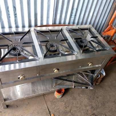 Gas burner. image 1
