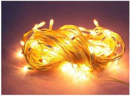 10 meters + 100 bulb Decorate your Home with this beautiful piece of String light/ Rice Lights. image 1