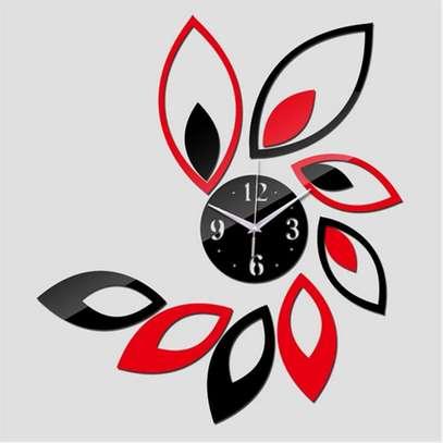 Quartz Wall Clocks Modern Design Reloj De Pared Large Decorative Clocks 3d Diy Acrylic Mirror Living Room image 1