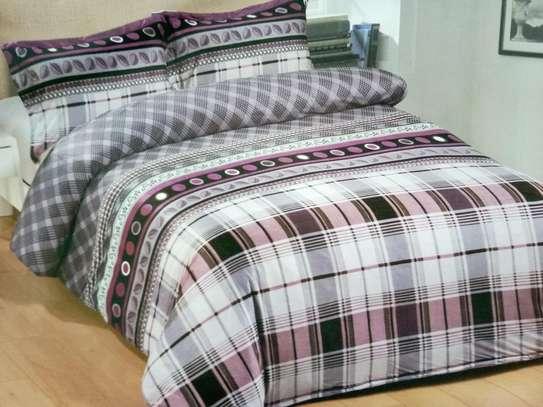 woolen duvet grey and pink image 1