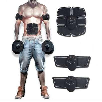Abdominal Muscle Training Wireless EMS Belt Gym Body Massage image 2