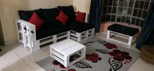 4 seater spacious pallet sofa/pallet furniture image 2