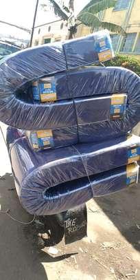 MOMBASA medium blue FREE DELIVER 6 thick mattresses image 1