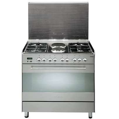 4 GAS+ 2 ELECTRIC STAINLESS STEEL ELBA COOKER- EB/174 image 2