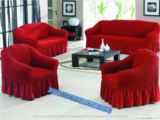 Ready Made Loose Covers 5 seater 11500/= image 3