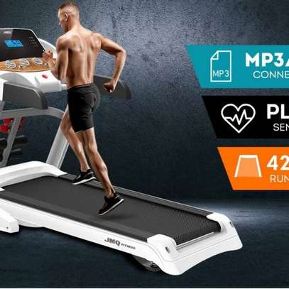 JMQ Semi-Commercial Treadmill with 15% incline image 2