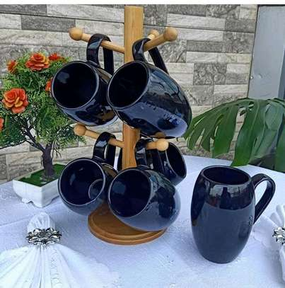 A set of 6 cups image 1