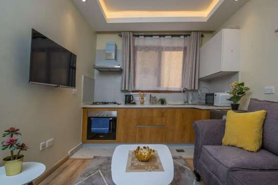 Furnished 1 bedroom apartment for rent in Kileleshwa image 5