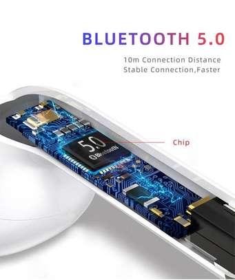 i12 TWS Airpods wireless Bluetooth Earphone Bluetooth 5.0 Earbuds sport Headset image 6