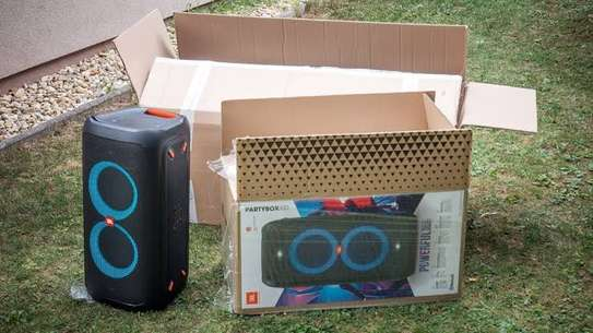 JBL PartyBox 100 | Powerful portable Bluetooth party speaker with dynamic light show image 2