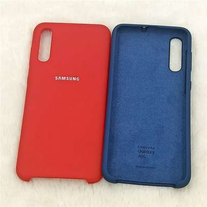 Silicone case with Soft Touch for Samsung A70,A60,A50,A40,A30,A20 image 8
