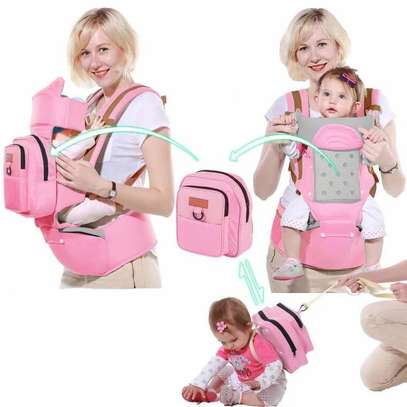 HipSeat Carrier with Toddler Backpack