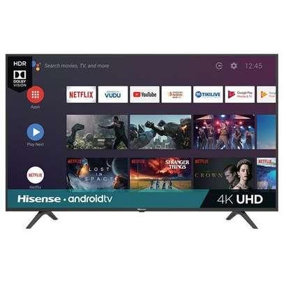 "Hisense 55A72KEN- 55"" UHD 4K LED Smart Android TV - Black - Frameless With Bluetooth image 1"