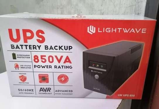 Lightwave ups 850va power back up image 1